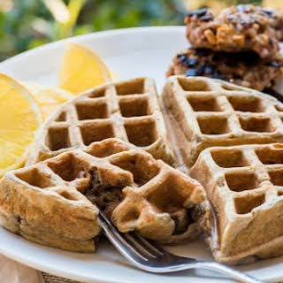 Aunt Catherine's Buckwheat-Gingersnap Waffles.