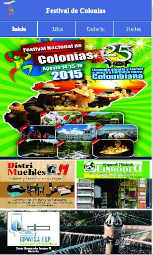 Festival de Colonias