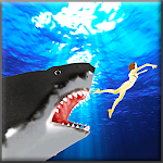 Angry Blue Shark 2016 Icon