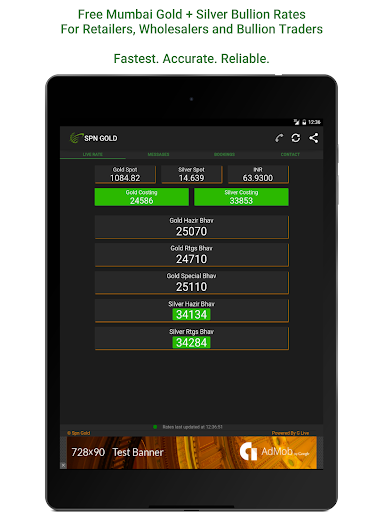 Spn Gold - Live Gold Rate Price (India) App Report on Mobile Action