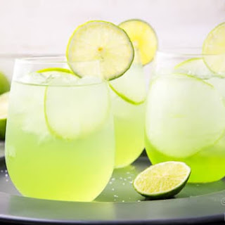 Sour Apple Tequila Cocktail - The Lucky Shamrock.
