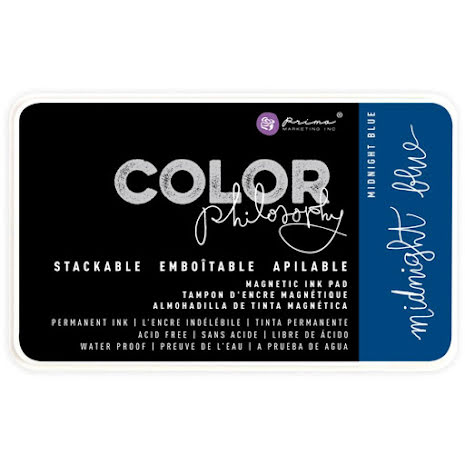 Prima Color Philosophy Permanent Ink Pad - Midnight Blue UTGÅENDE