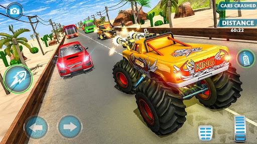 Monster Truck Racing Games: Transform Robot games 1.0.1 screenshots 1