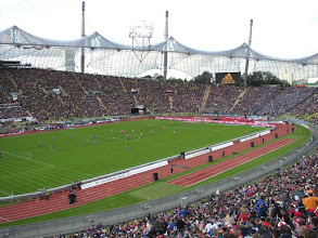 Photo: Bayern München - FC Schalke'04 0-1, toeschouwers 63.000 (uitverkocht)
