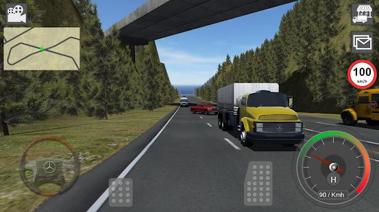 GBD Mercedes Truck Simulator - náhled