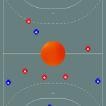 Tactic Board Indoor Hockey Icon