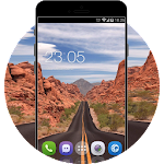 Highway Road theme: Landscape Wallpaper Icon