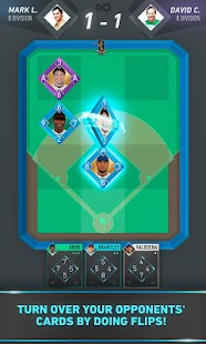 Flip Baseball: card game- screenshot thumbnail