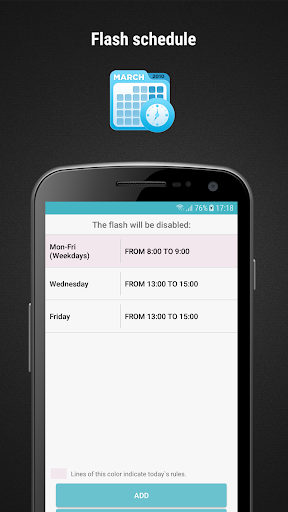 FlashOnCall (call and app) screenshot 4