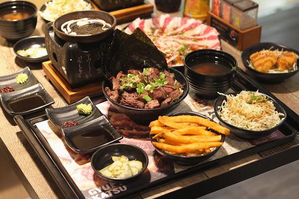 虎次郎日式炸牛排新光三越台北站前店-超夯日式炸牛排,人氣必點特級雪花牛燒肉定食