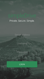 simpleDrive - náhled