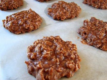 No-bake Peanut Butter Chocolate Cookies Recipe