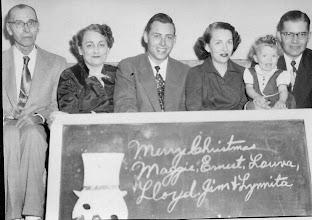 Photo: Ernest Lloyd (Zeke) Hunt with named group