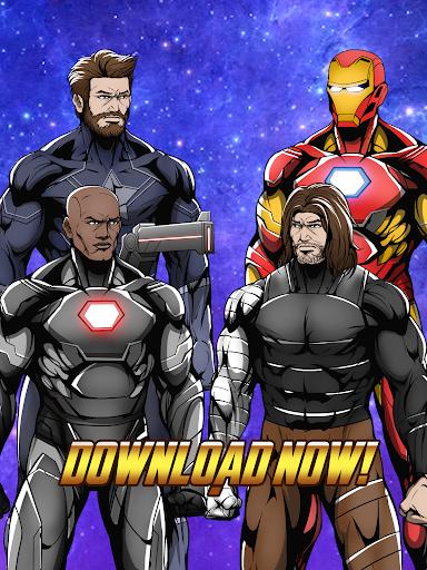 Avengers Infinity Wars SuperHero Creator 1.3 screenshots 5