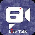 Emo Live Talk - Free Random video call icon
