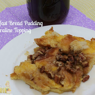 Breakfast Bread Pudding with Praline Topping Recipe