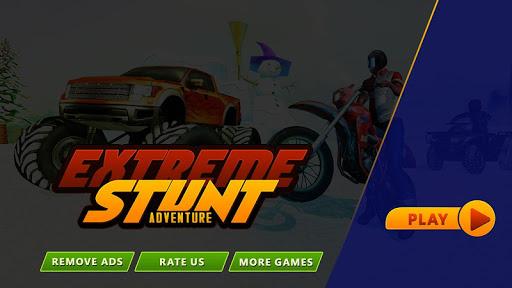 Télécharger Extreme Snow Stunt Adventure APK MOD (Astuce) screenshots 3