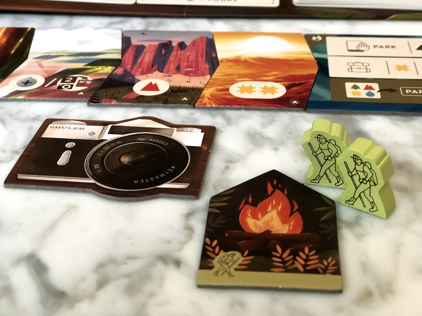player tokens