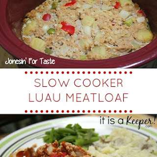 Slow Cooker Luau Meatloaf Recipe
