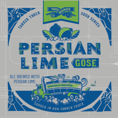 Logo of Two Roads Tanker Truck Sour Series: Persian Lime Gose