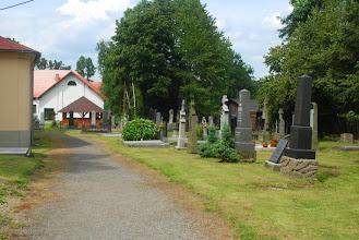 Photo: ciekawie położony cmentarz