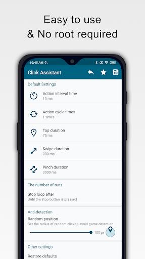 Click Assistant - Auto Clicker : Gesture Recorder 1.8.2 Screenshots 1