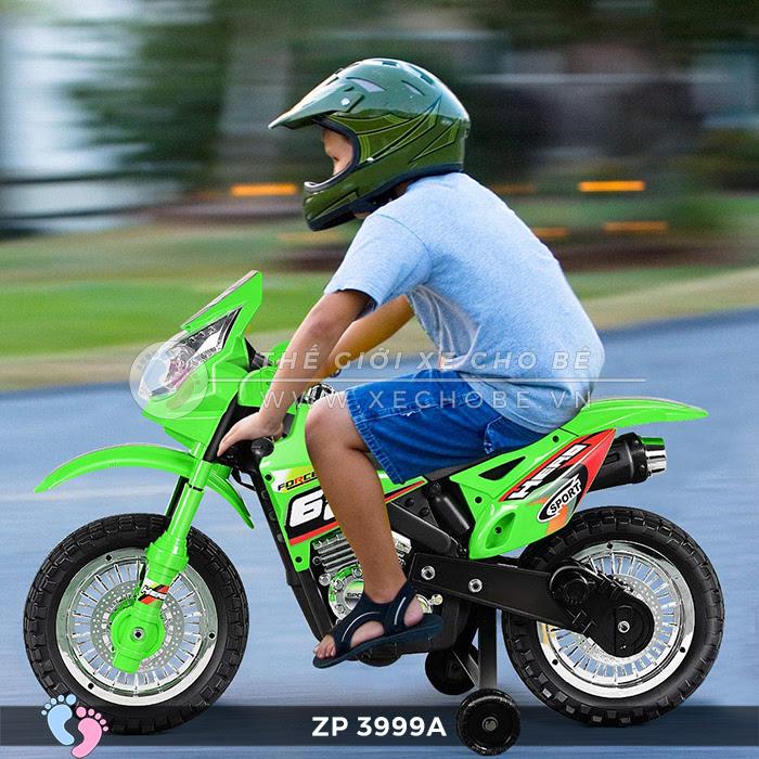 Xe mô tô điện địa hình 2 bánh ZP3999A 2