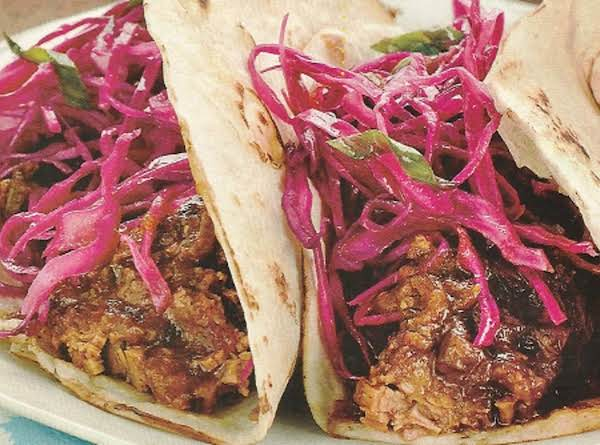 Brisket Tacos With Red Cabbage Recipe