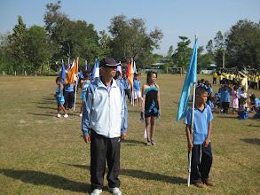 Photo: คุณครูประทีป ศรีสุวรรณรัตน์ ประธานฝ่ายจัดการแข่งขัน