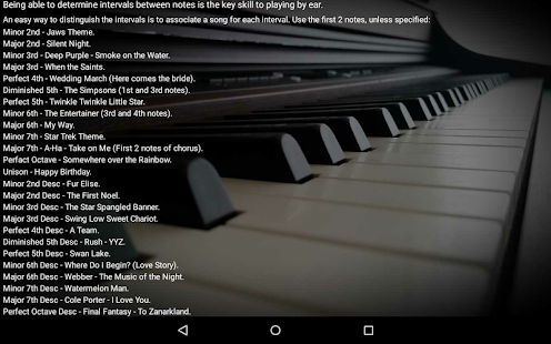 Piano Interval Training- screenshot thumbnail
