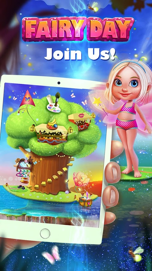 Fairy Day Dress Up & Care- screenshot