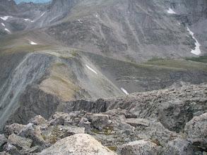 Photo: My ascent ridge.