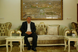 Photo: Nader B. Mohammed, director of Antiquities Department, Erbil 2014