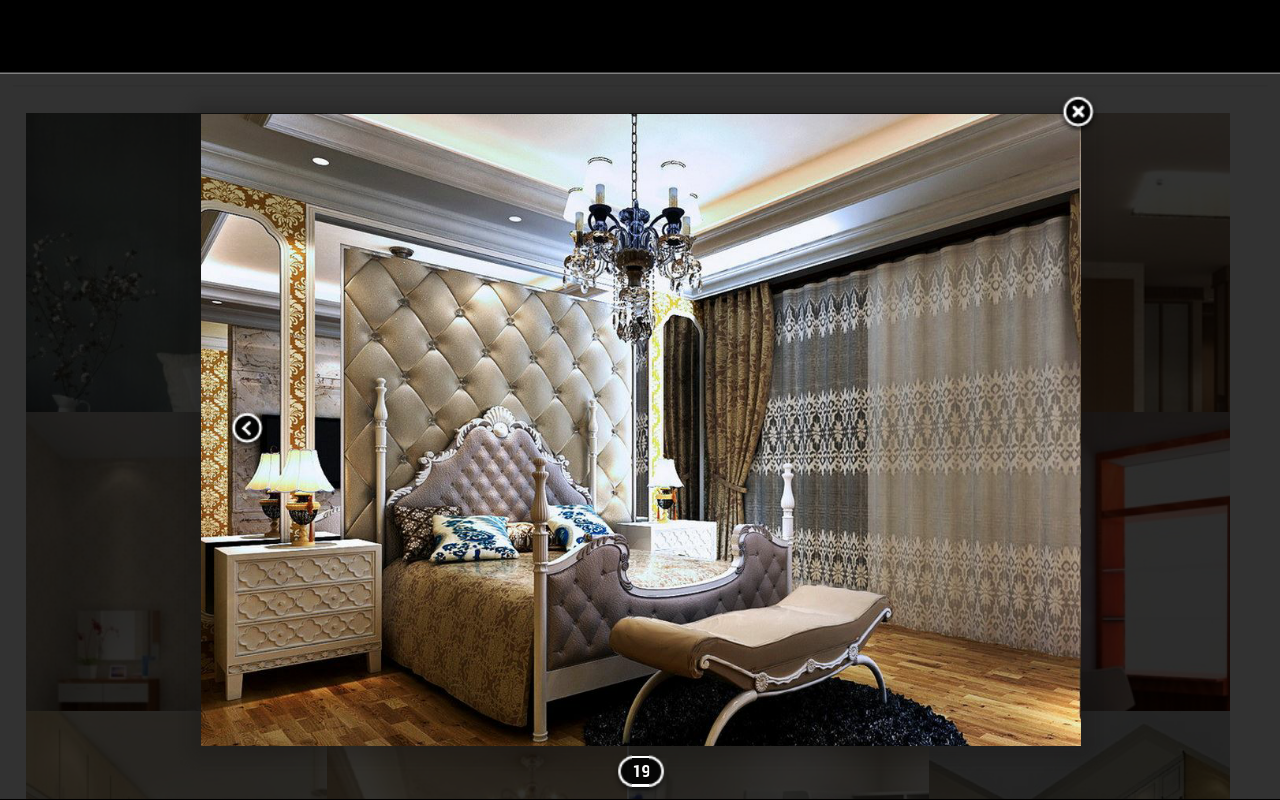 3d bedroom design screenshot
