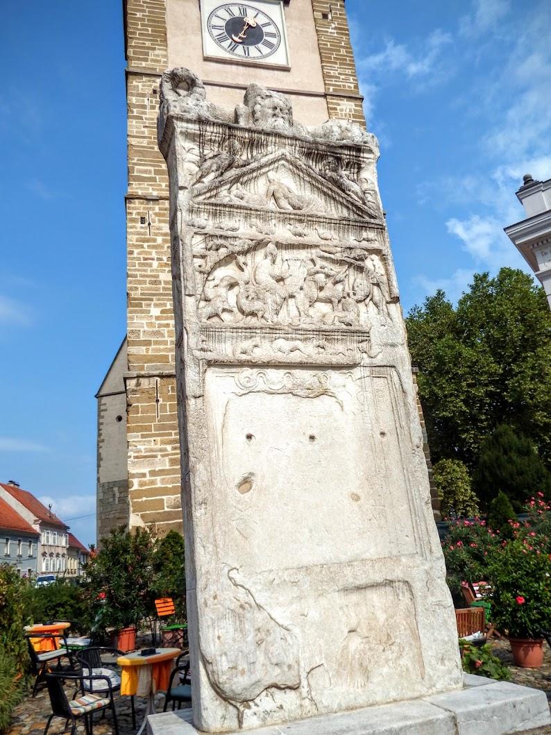 Ptuj - Orfejev spomenik (Orpheus-emlékmű)