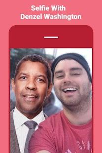 Denzel Washington Selfie Photo Editor - USA Actor - náhled