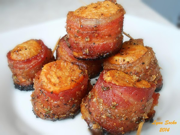 Sweet Potato Bacon Bites Recipe