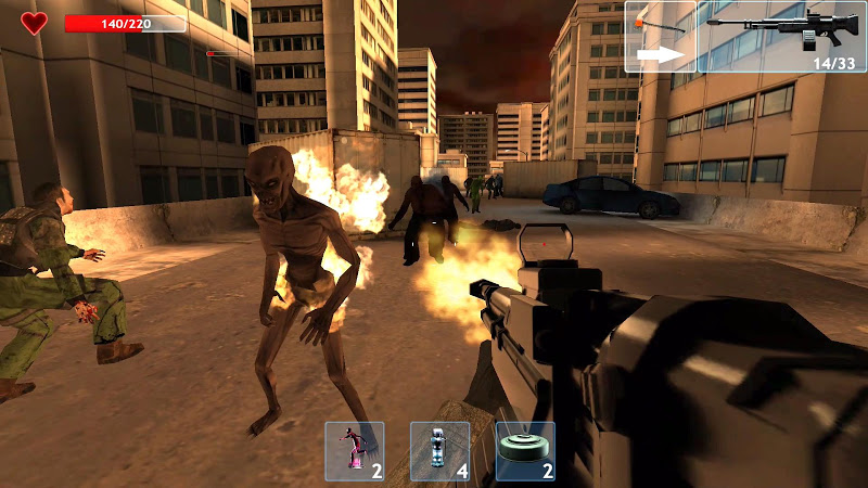 Zombie Objective Screenshot 1