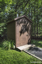 Photo: Composting toilet at Kettle Pond State Park by Max Mishkin