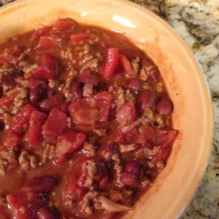 Super EASY Slow Cooker Chili