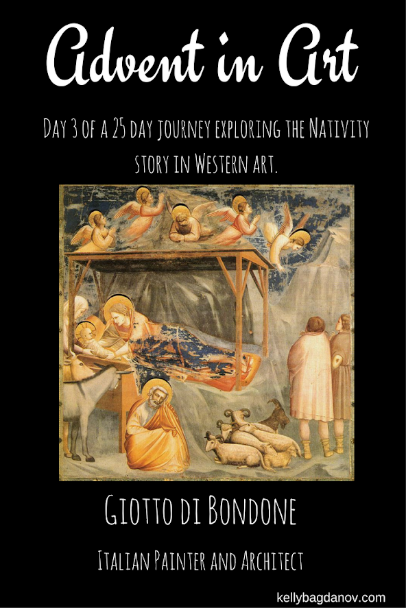 Article on Giotto's nativity painting in the arena chapel