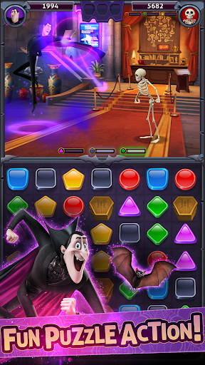 Hotel Transylvania: Monsters! - Puzzle Action Game 1.3.1 Screenshots 1
