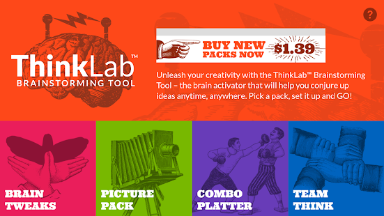 ThinkLab™ Brainstorming Tool- screenshot thumbnail