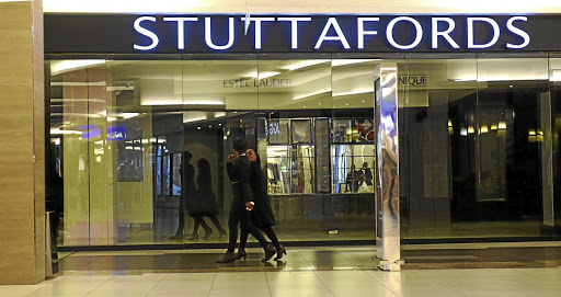 Bleak house: Stuttafords in the Rosebank Mall. Picture: FREDDY MAVUNDA