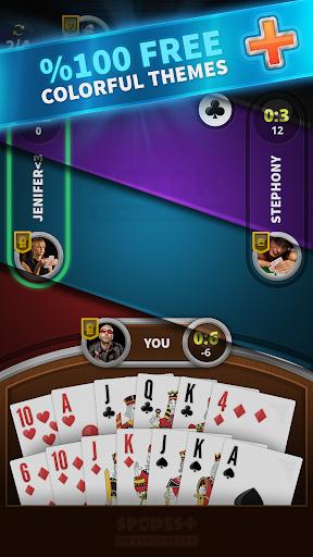 Spades Free + Play Free Spades Offline  screenshots 2