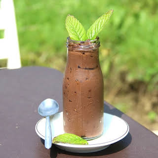 Natural Mint Chocolate Pudding.