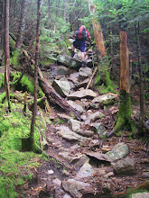 Photo: The trail up Passaconaway was also steep.