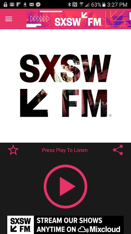 SXSWfm®- screenshot