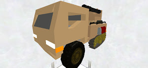 War truck/tank with misc