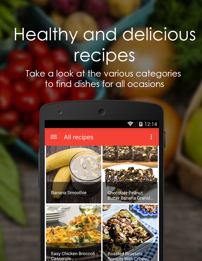 Freshything Healthy Recipes- screenshot